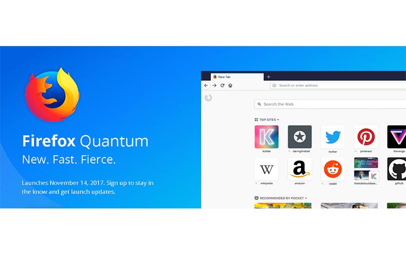 Firefox Quantum, il nuovo browser di Mozilla