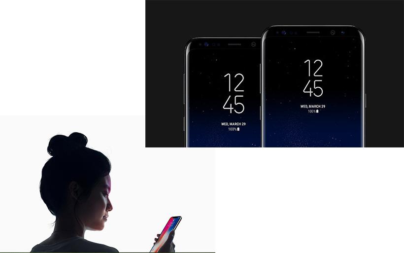 L'alternativa valida ad iPhone X: Samsung S8 con l'infinity display