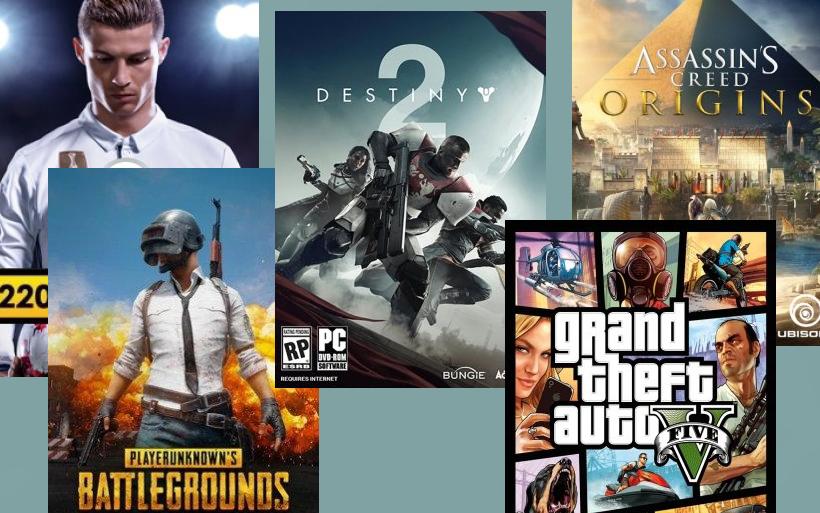 I 5 Giochi più venduti per PC – Ottobre 2017