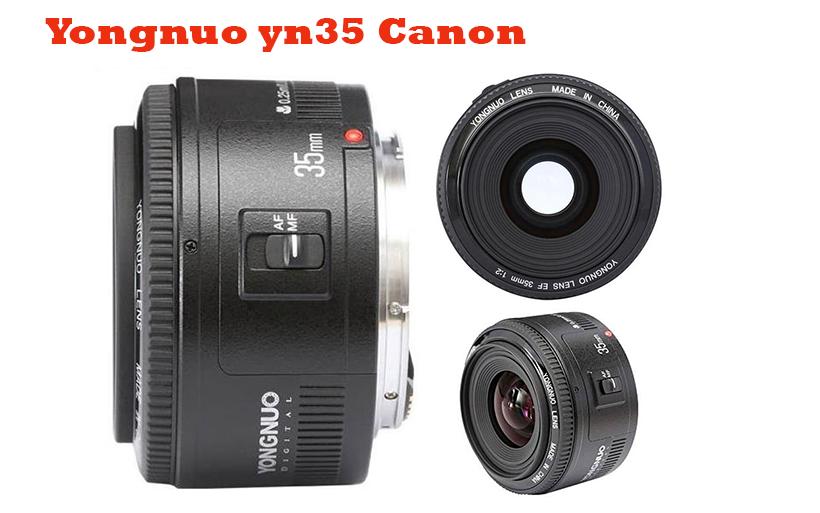 Recensione obiettivo 35mm per Canon, Yongnuo yn35