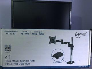 arti-z1-supporto-monitor-1-320x240 Recensione braccio per monitor 13-32 pollici Arctic Z1