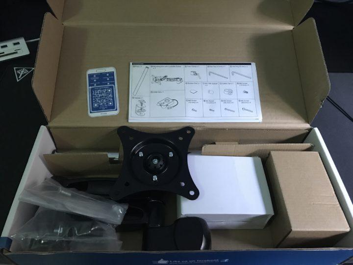 arti-z1-supporto-monitor-2-720x540 Recensione braccio per monitor 13-32 pollici Arctic Z1