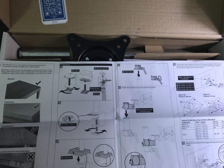 arti-z1-supporto-monitor-3-720x540 Recensione braccio per monitor 13-32 pollici Arctic Z1