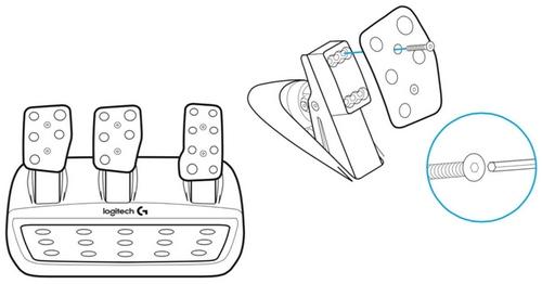 pedaliera-g29 Recensione completa del Logitech G29 per PC, PS3 e PS4