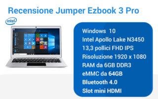 Recensione-notebook-Jumper-Ezbook-3-PRO-2-320x200 Recensione Lenovo IdeaPad 330S-14IKB, notebook veloce e leggero