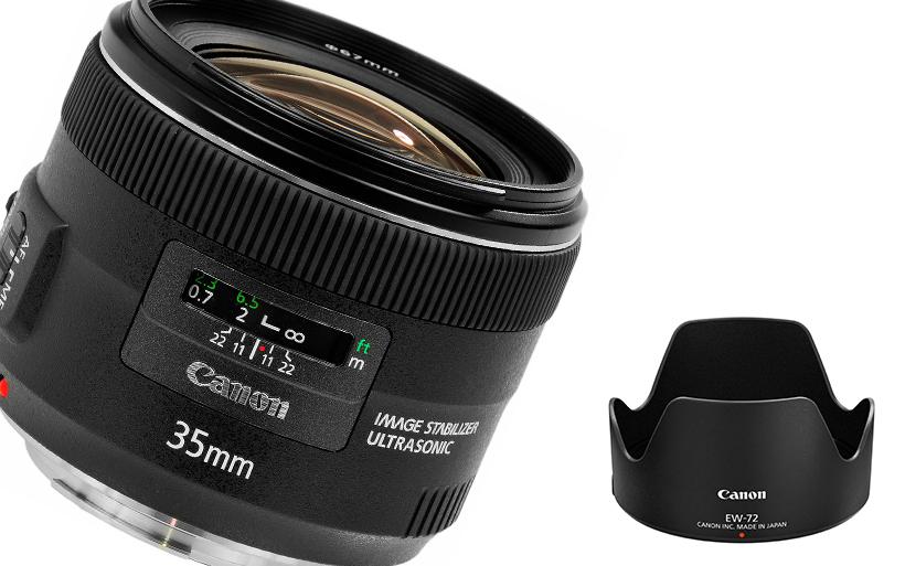 Recensione obiettivo Canon EF 35mm f/2 IS USM
