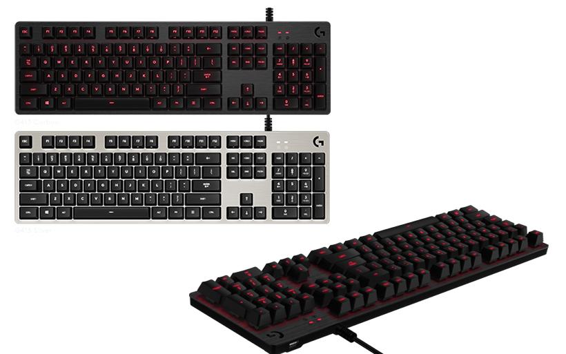 Recensione tastiera meccanica Logitech G413