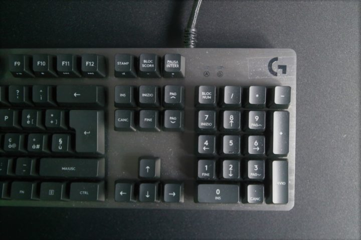 logitech-g413-3-720x480 Recensione tastiera meccanica Logitech G413