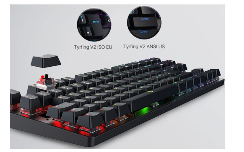 Recensione Drevo Tyrfing V2, tastiera meccanica da gaming