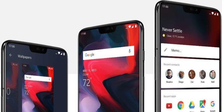 oneplus-6-software-720x363 Recensione smartphone Android OnePlus 6