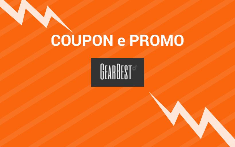 Coupon e promozioni GearBest del mese per risparmiare