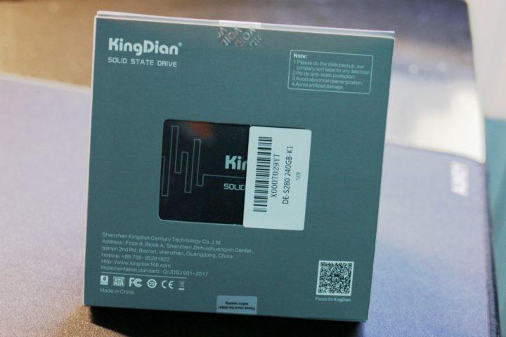 KingDian-240GB-Sata-III-4-720x480 Recensione KingDian 240GB Sata III, l'ssd più economico
