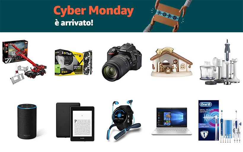 Le vere offerte del Cyber Monday Amazon 2018
