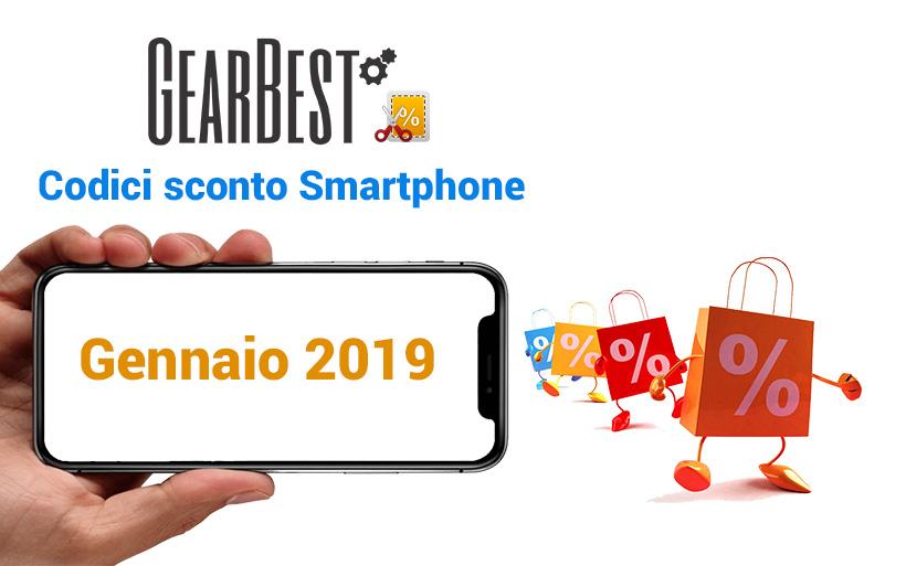 Codici sconto Gearbest Smartphone Android