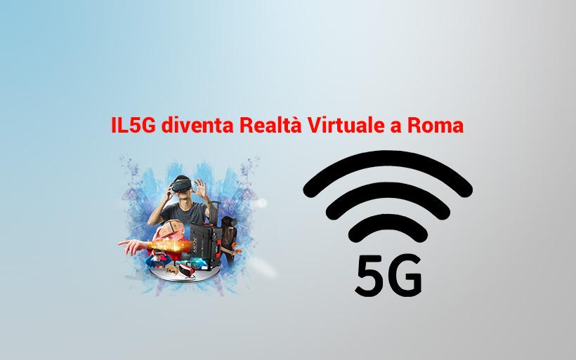 Prima applicazione su rete 5g a Roma grazie a Fastweb ed Ericsson