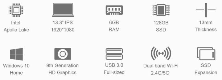 Teclast-F6-6-e1556804955885-720x262 Scheda tecnica Teclast F6 - notebook cinese 6GB RAM e 128GB SSD