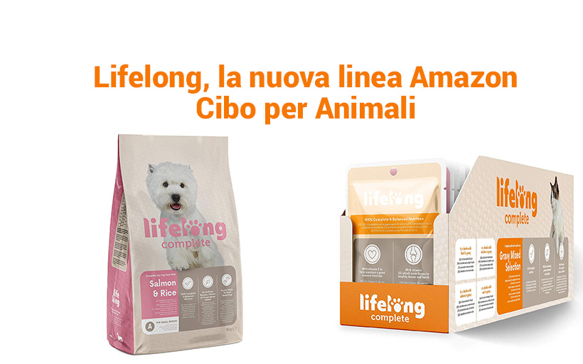 Amazon annuncia Lifelong, Cibo per animali domestici