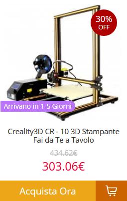 Creality3D-CR-10-3D-Stampante-Fai-da-Te-a-Tavolo Gearbest consegna veloce in 5 giorni! Tutti i prodotti spediti dall'Europa