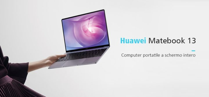 HUAWEI-MateBook-13.0-10-720x336 Huawei Matebook 13 a 707.99€ in offerta, Intel i5 8GB ram e 256GB ssd