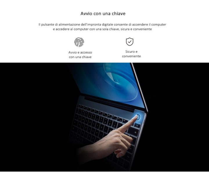 HUAWEI-MateBook-13.0-6-720x595 Huawei Matebook 13 a 707.99€ in offerta, Intel i5 8GB ram e 256GB ssd