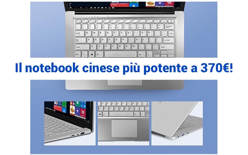 Il notebook cinese più potente del 2019, a soli 370€
