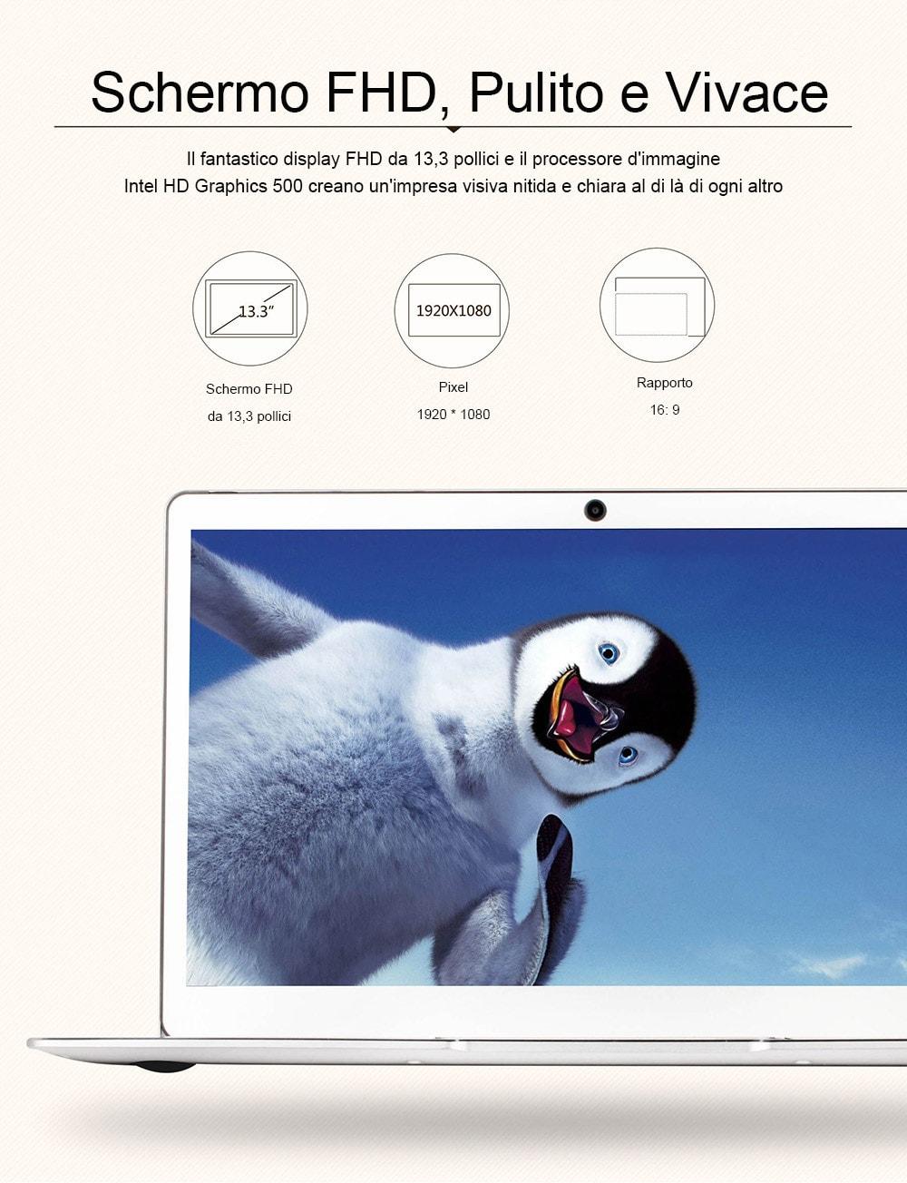 Jumper EZBOOK 3 PRO Tastiera italiana: 207€, il notebook cinese più venduto