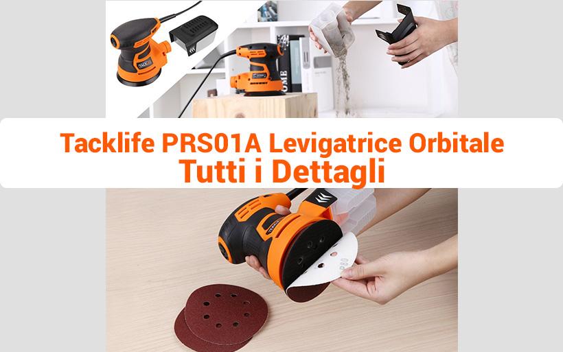 Levigatrice Orbitale Tacklife PRS01A 125mm 350W, 13000 RPM 6 Velocità
