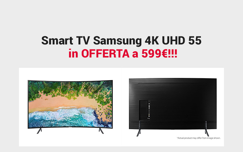 Smart TV Samsung 4K UHD 55 in offerta a 599€