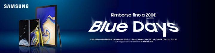 blue-days-samsung-720x180 Offerte Amazon 13 Febbraio 2019, i migliori sconti realmente convenienti