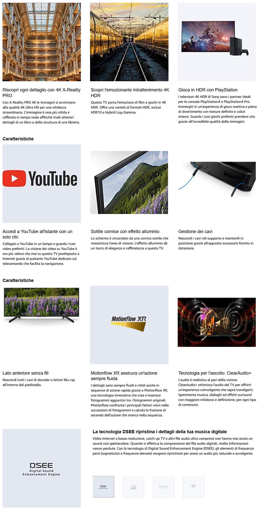 sony-smart-tv-in-offerta-1 4 Smart TV 4K Sony in Offerta limitata su Amazon