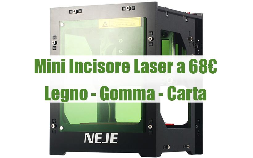 Mini Incisore Laser a 68€ con Codice SCONTO, NEJE DK 8