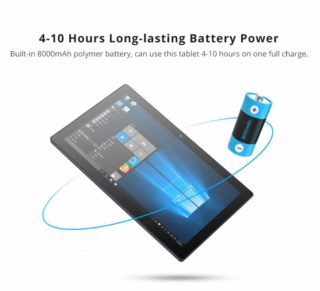 Pipo-W11-2-in-1-8-320x291 Tablet PC Cinese con Stilo in offerta a 219€, solo 50 pezzi