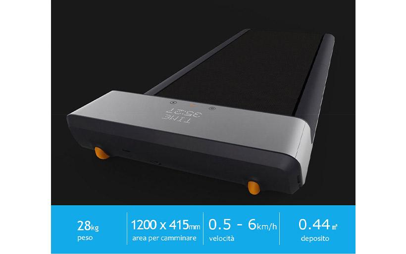 Da 690 a 460€ il tapis roulant per dimagrire: Xiaomi Youpin pieghevole