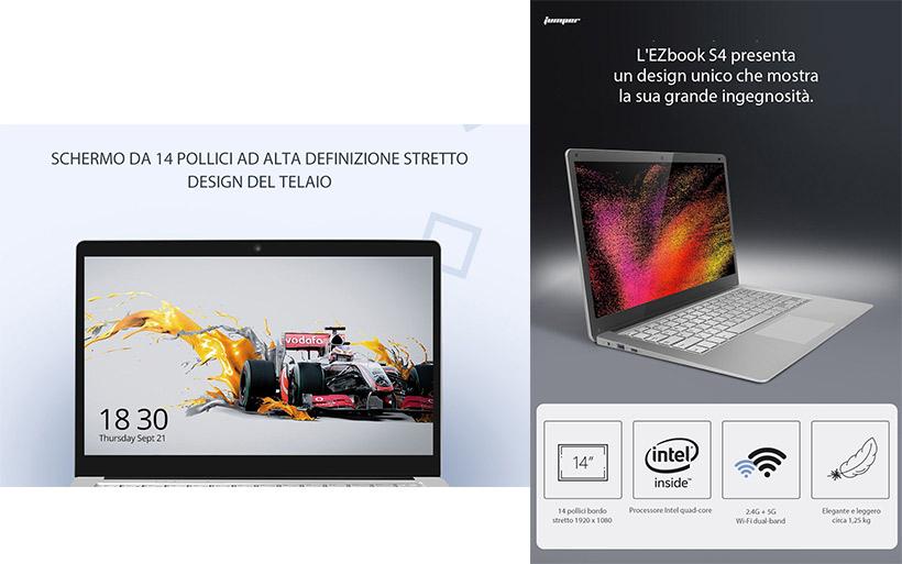 Jumper EZbook S4 a 294€ con Codice Sconto, solo 10 pezzi disponibili