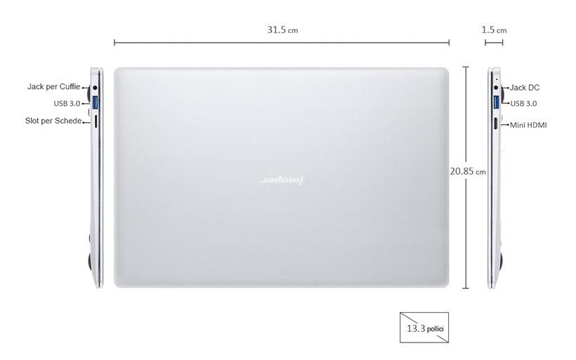 Nuova Offerta Jumper EZBOOK 3 PRO a 233€, Tastiera Italiana