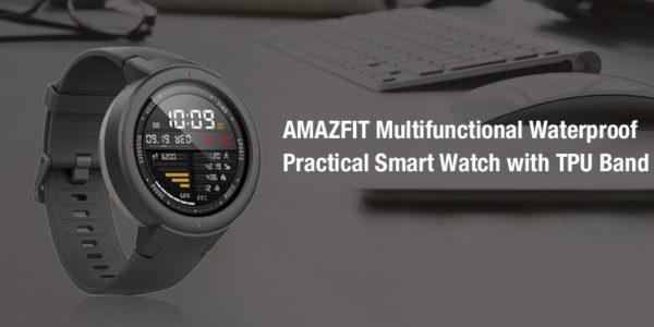 Amazfit-Verge-1-600x300 5 Smartwatch Sportivi in offerta -50%, Xiaomi Amazfit