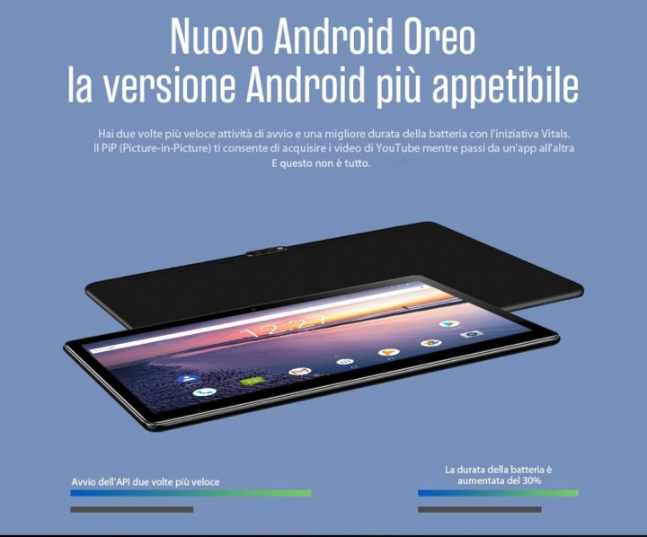 Chuwi-Hi9-Air-1-720x598 Offerta 171€ Tablet Android 4G, Chuwi Hi9 Air da 10.1 pollici