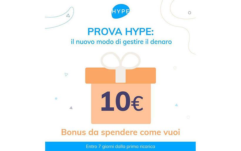 Guida Hype – Come guadagnare 10€ con la miglior carta conto
