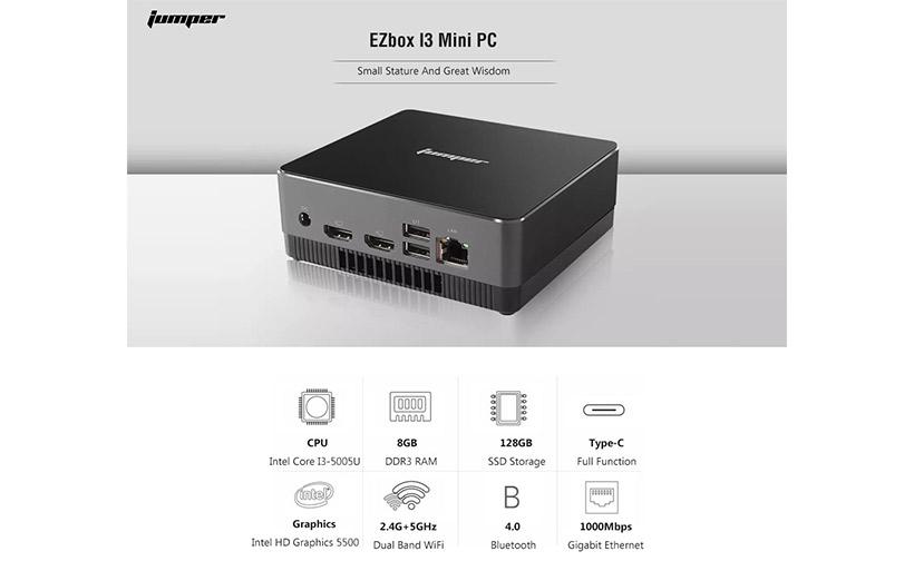OFFERTA LANCIO 245€ Jumper EZbox I3, il Mini PC potente e veloce