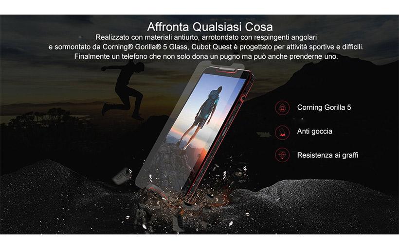 Offerta RUGGED, Cubot Quest a 109€ – Smartphone resistenti a TUTTO