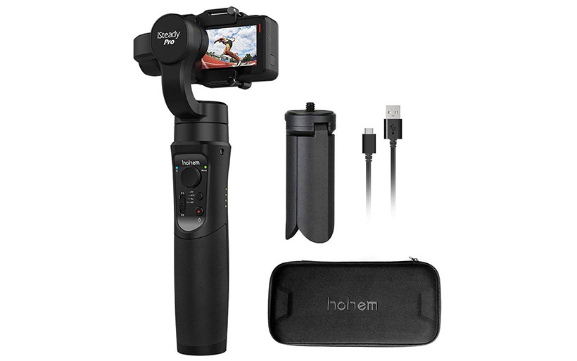Offerta Stabilizzatore 72€, per action cam Hohem iSteady Pro a 3 assi
