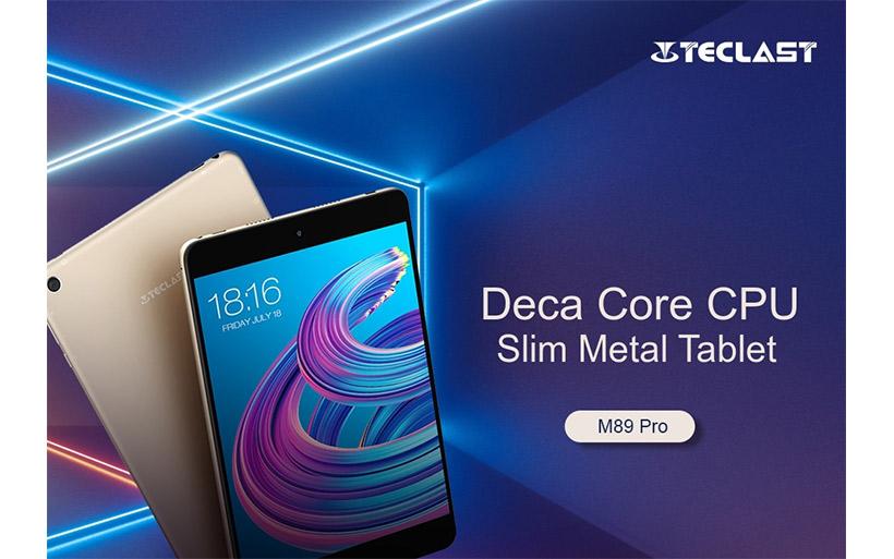 Offerta tablet Teclast M89 Pro a 135€, con 10 CORE e 3Gb di ram!