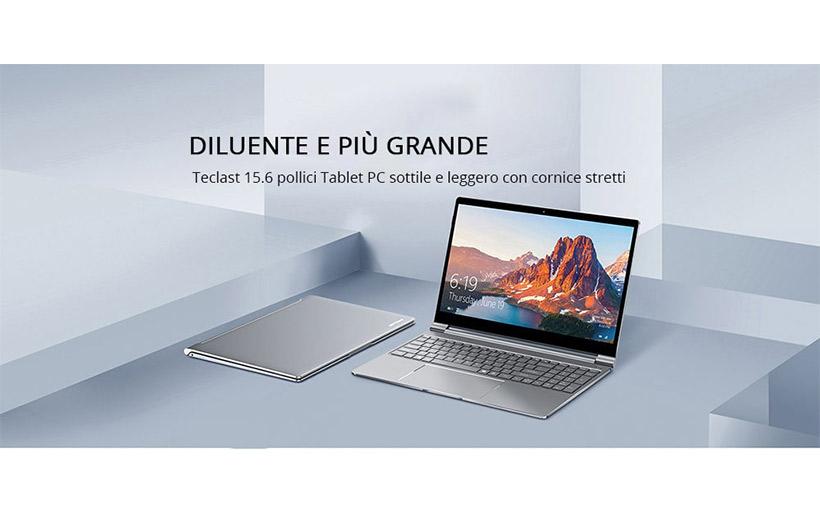 Promo Teclast F15 a 362€, MOUSE wifi in REGALO su Gearbest