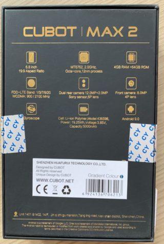 UNBOXING-cubot-max-2-2-320x476 UNBOXING e prime impressioni del CUBOT MAX 2