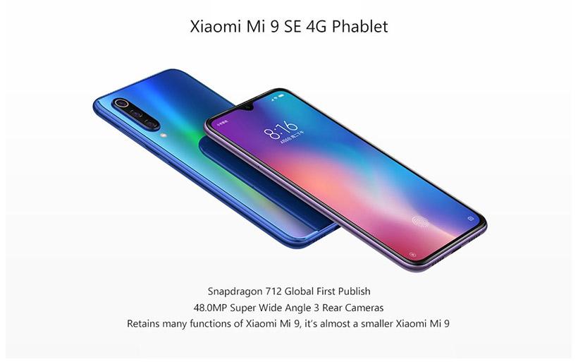 Offerta Xiaomi Mi 9 SE a 282€ con Codice Sconto, prezzo più basso online
