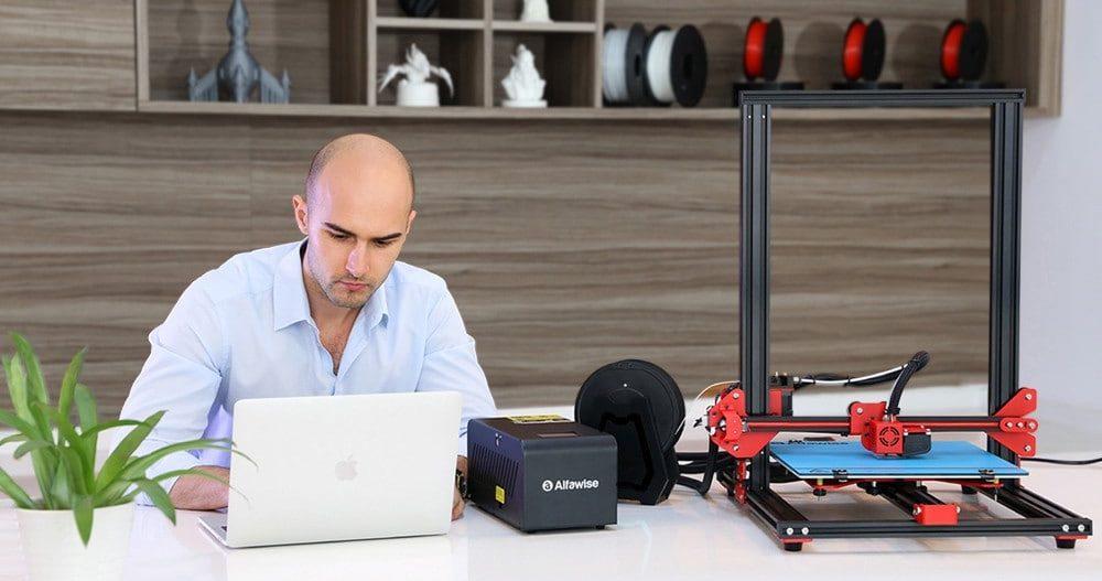Stampanti 3D Alfawise in Offerta fino a -30% con CODICI sconto
