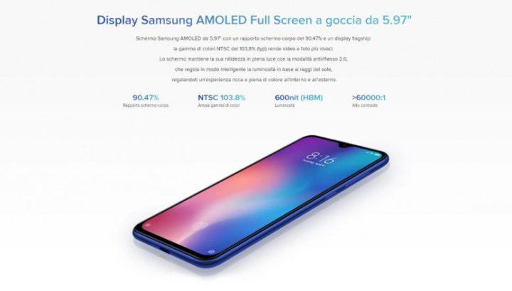 xiaomi-9se-3-720x409 Novità Mi 9 SE, il nuovo smartphone Xiaomi, specifiche e offerte