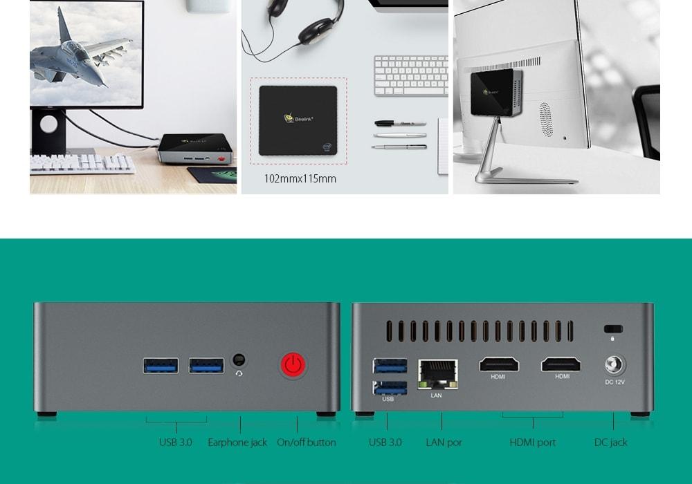 Mini PC veloce in Offerta 217€, Beelink J45: specifiche e codice sconto