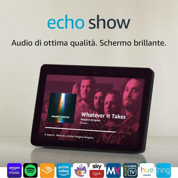 Echo-Show-2ª-generazione-4-720x720 Recensione Amazon Echo Show: tutto quello che c'è da sapere