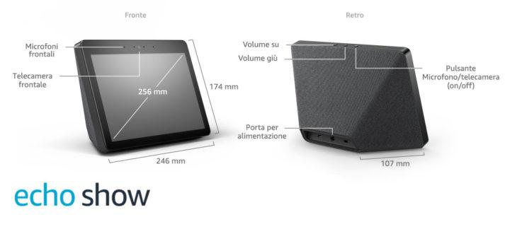 Echo-Show-2ª-generazione-dettagli-tecnici-720x324 Recensione Amazon Echo Show: tutto quello che c'è da sapere